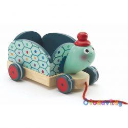 Húzható játék - Clementine, a teherhordó teknős -ovodavilag.hu