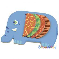 Bébi lapozgató elefánt játék - Djeco -ovodavilag.hu