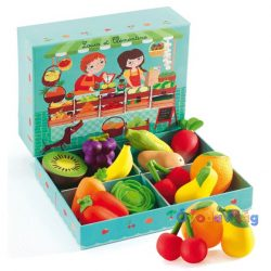 Zöldséges 12 db zöldség-gyümölcs - Djeco-ovodavilag.hu