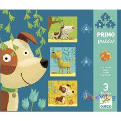 Primo puzzle - Kutyák -ovodavilag.hu