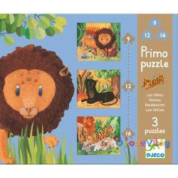 Primo puzzle - Nagymacskák -ovodavilag.hu