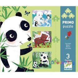 Primo puzzle - Medvék -ovodavilag.hu
