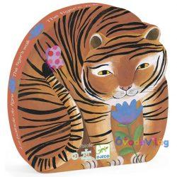 Formadobozos puzzle - A tigris setaja Djeco-ovodavilag.hu