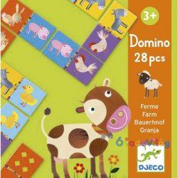 Djeco Domino - Farm - ovodavilag.hu