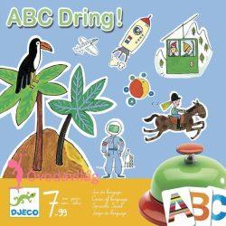 ABC Dring! szókincsfejlesztő társasjáték-Djeco