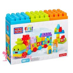 Mega Bloks 123 Számvonat