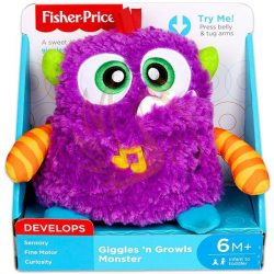 Fisher-Price édes szörnyecske plüss