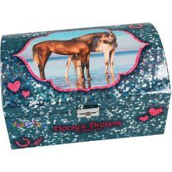 horses dreams ekszerdoboz kek