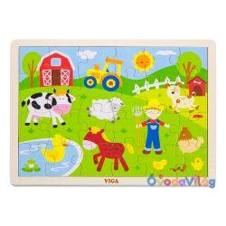 Fa puzzle 24 db-os