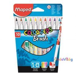 "Filc készlet 10db-os MAPED ""Color Peps Brush"" kimosható - ovodavilag.hu"