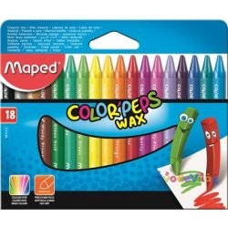 "Zsírkréta 18 db-os Maped ""Color Peps"" Wax - ovodavilag.hu"