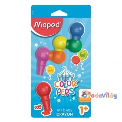 """Zsírkréta 6db-os MAPED """"Color Peps Baby"""" - ovodavilag.hu"""