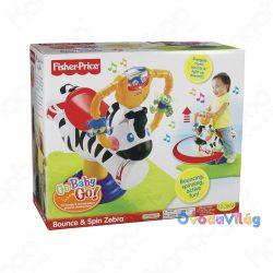 Fisher-Price: Hopp hopp Ugráló Zebra-ovodavilag.hu