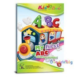 Első ABC-m fejlesztő színező kisiskolásoknak Kiddo Books-ovodavilag.hu