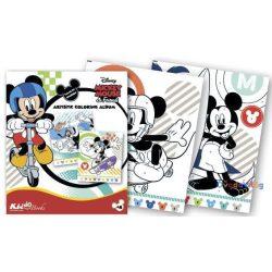 Mickey Egér színezz számok szerint foglalkoztató Kiddo Books-ovodavilag.hu