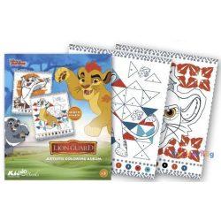 Oroszlán Őrség színezz számok szerint foglalkoztató Kiddo Books-ovodavilag.hu
