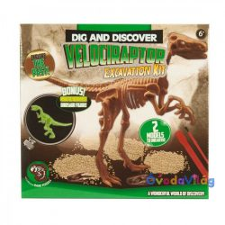 Dinoszaurusz régész készlet Velociraptor - ovodavilag.hu