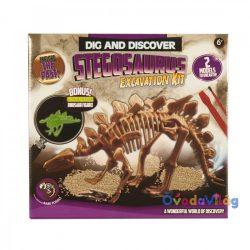 Dinoszaurusz régész készlet Stegosaurus - ovodavilag.hu