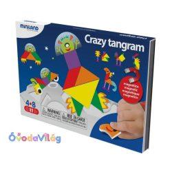 Mókás Tangram - mágneses utazójáték