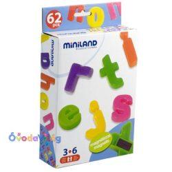 Mágneses kisbetűk - Miniland