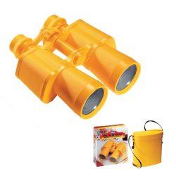 Kétcsövű távcső sárga