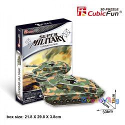 CubicFun Super Military tank 3D puzzle-ovodavilag.hu