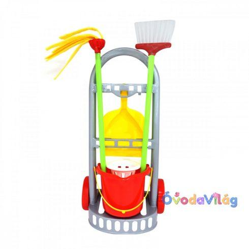 Játék takarító kocsi 43 cm - ovodavilag.u