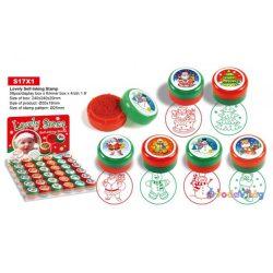 Karácsonyi nyomda 6 féle kör alakú