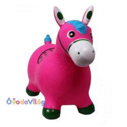 Ugráló figura póni-rózsaszín