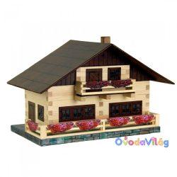Fa építős játék Alpesi ház Walachia - ovodavilag.hu