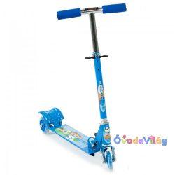 Háromkerekű gyerek roller kék világító