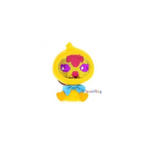 Zequins Flitter babák sárga