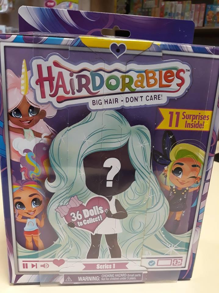 Hairdorables játékbaba